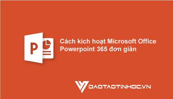 Microsoft Office Powerpoint 365