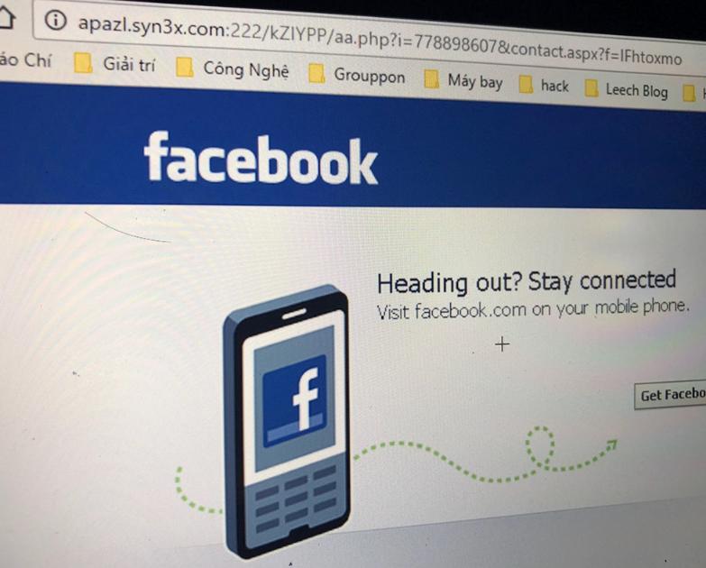 khong dang nhap facebook tu cac lien ket la