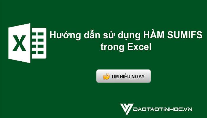 Hướng dẫn sử dụng hàm SUM trong Excel cơ bản
