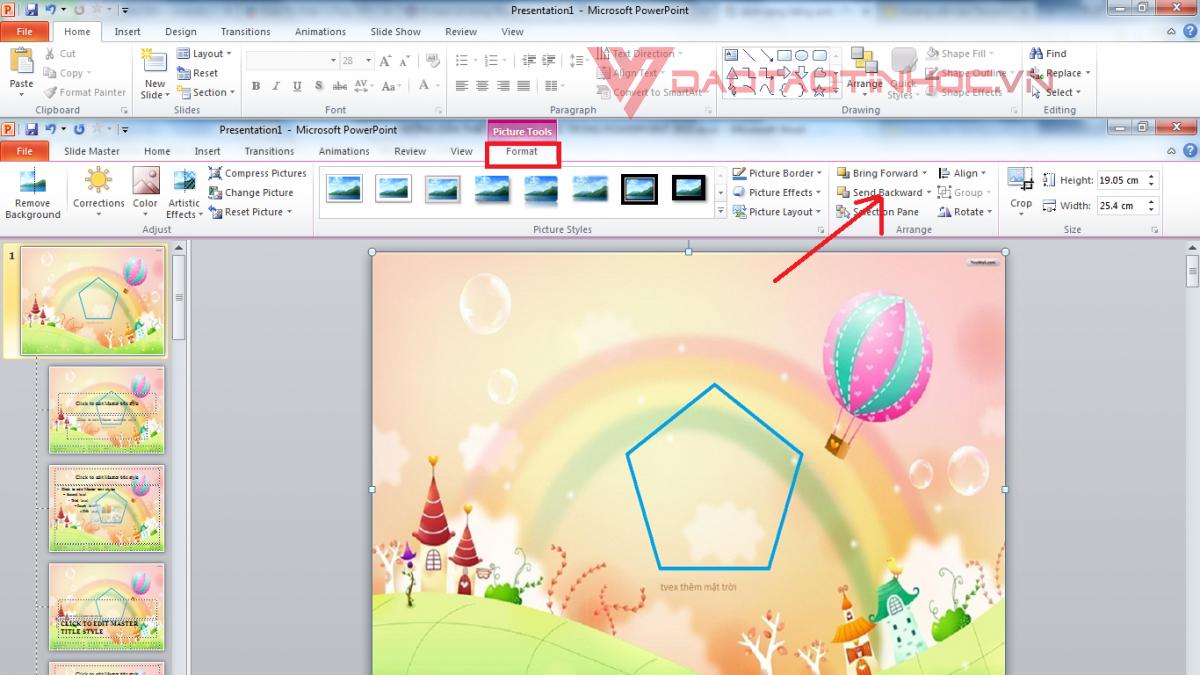 Sử dụng Slide Master Powerpoint đơn giản 2