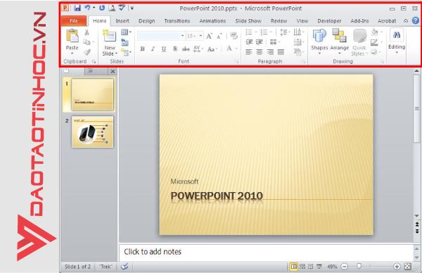 sử dụng powerpoint cơ bản