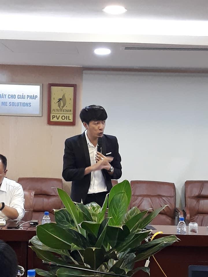 GV Nguyễn Quang Vinh đào tạo chương trình công nghệ 4.0 cho tập đoàn dầu khí PVOIL 1