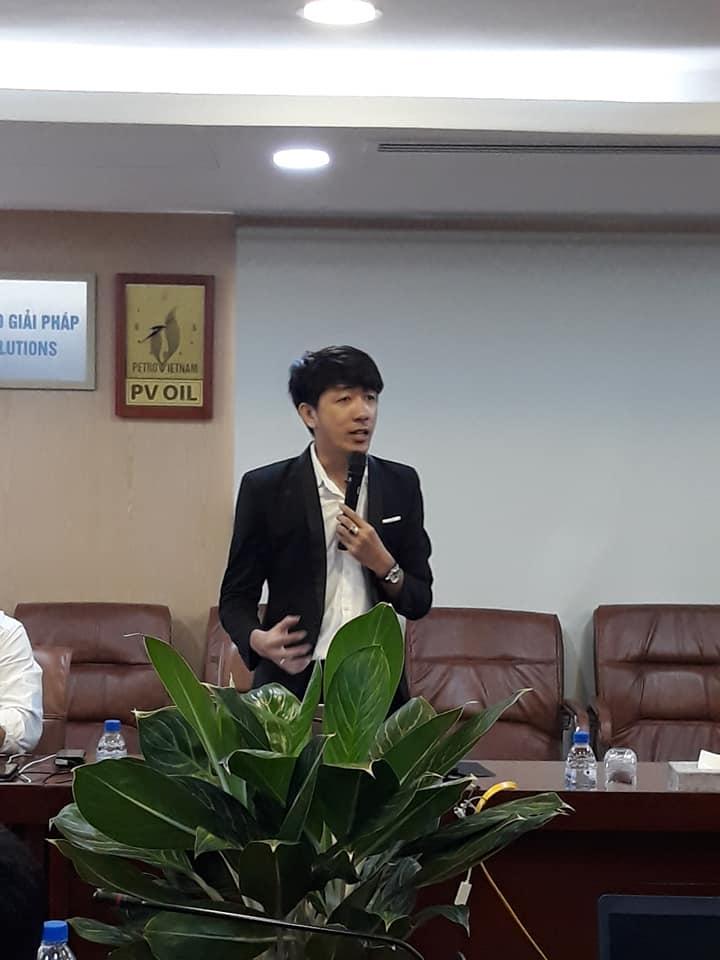 GV Nguyễn Quang Vinh đào tạo chương trình công nghệ 4.0 cho tập đoàn dầu khí PVOIL 2