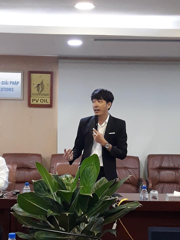 GV Nguyễn Quang Vinh đào tạo chương trình công nghệ 4.0 cho tập đoàn dầu khí PVOIL 3