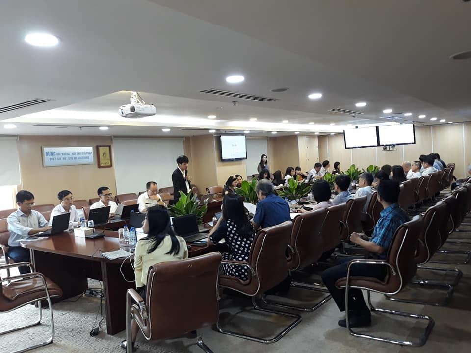 GV Nguyễn Quang Vinh đào tạo chương trình công nghệ 4.0 cho tập đoàn dầu khí PVOIL